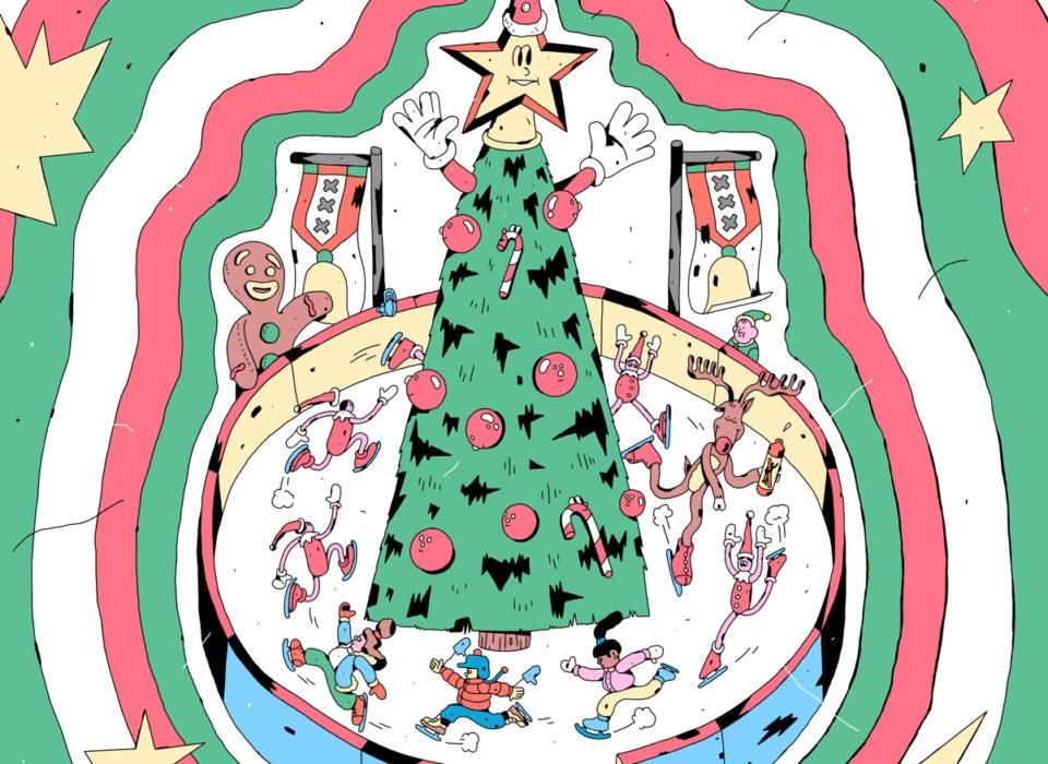Kerst op de Westergas